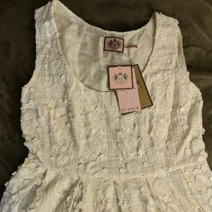 NWT Juicy Couture Angel Charm swing dress